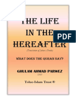 The Life in the Hereafter G a Parwez