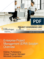 Enterprise Project Management Epm Solution Overview (1)