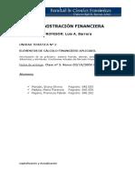 Unidad 2 Adm Financiera