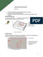 #Notes2-Sketchup Interface and Basic Shape
