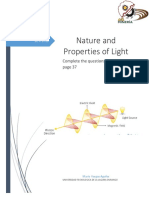 Nature and Properties of Light
