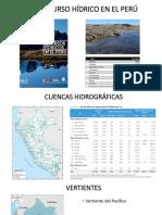El Recurso Hídrico en El Perú