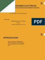 ILUMINACION Comercial e Industrial