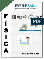 FISICA  - HIDROSTATICA