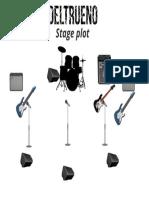 Stage Plot Deltrueno