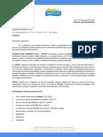 Carta de Presentación - AUSENCO PERU S.a.C.