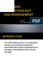 Causes and Management of Pain Med Stu Lecture