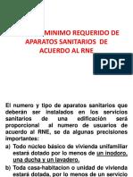 SEMANA 6 # Aparatos Sanitarios segun RNE.pptx