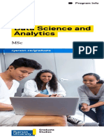 Ryerson MSc-YSGS Data Science Web