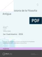 Uba Ffyl p 2016 Fil Historia de La Filosofía Antigua (Mársico)