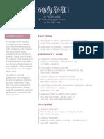 resume emilyhecht su2018 portfolio
