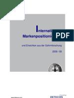 Detecon Opinion Paper Internationale Markenpositionierung und Einsichten aus der Gehirnforschung
