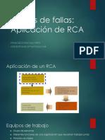 Aplicación de Un RCA (2)