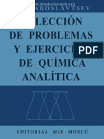Colección de Problemas y Ejercicios de Química Analítica - A. a. Yaroslavtsev - 1ra Edición