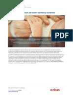 Registros Poligraficos en Recien Nacidos y Lactantes