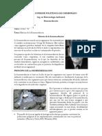 Historia de La Biorremediacion