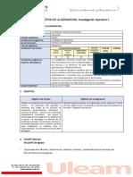Formato Programa Analtico