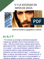 La Vida y La Sociedad en Tiempos de Jesús