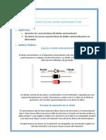Caracteristicas Del Diodo Semiconductor
