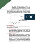 Método de Medición de La Resistencia Eléctrica