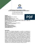 Biologia y Laboratorio (Medicina)