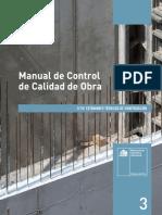 MINVU, 2018 - Manual Control de Calidad en Obra