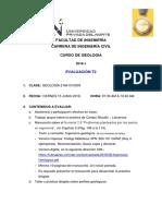 Pautas Evaluación t2 - Geologia (0509)