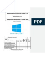 Lab 01 - Implementación y Administración de Windows Server