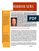 neighborhood news april 2018