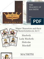 The Tragedy of Macbeth Act 5