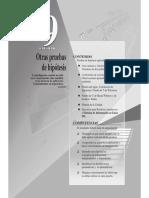 PRUEBA DE HIPÓTESIS PARA LA DIFERENCIA DE PROPORCIONES