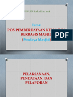 Ppt Kkn Posdaya Berbasis Masjid