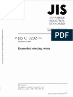 JIS C3202 Enamelled Winding Wire