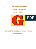 plan de gobierno changuillo