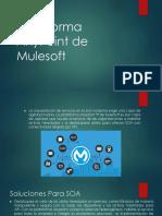 Plataforma AnyPoint de Mulesoft