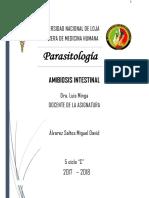 Amibiosis Intestinal
