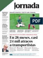 2018 06 18 en 28 Meses Casi 24 Mil Atracos a Transportistas