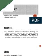 P3 - Audit Overview