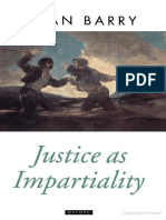 Brian Barry-Justice as Impartiality (Oxford Political Theory) (1996)