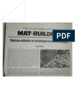 Mat Building How to Recognise and Read It