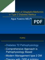 BEU IX 2017 Early Combination of SitagliptinMetformin in Type 2 Diabetes Mellitus