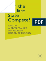 Alfred Pfaller, Ian Gough, Göran Therborn Eds. Can the Welfare State Compete- A Comparative Study of Five Advanced Capitalist Countries