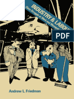 Andrew L. Friedman Auth. Industry and Labour Class Struggle at Work and Monopoly Capitalism
