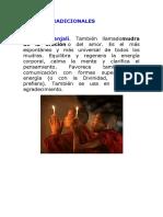 MUDRAS TRADICIONALES
