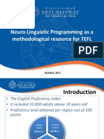 Ppt Nlp for Tefl