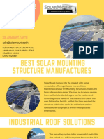 Best solar mounting structure manufacturers