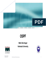 OSPF Malin Bornhager Halmstad University