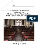 parish magazine july and august 2018