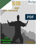 Afiche Tai Chi