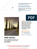 1Copy of PMP Notes by JustPMP Updated